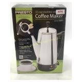 Presto coffee maker