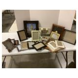 Large Assortment Picture Frames