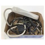 Shute  transmitter & wires
