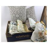 Linen collection includes bed sheets