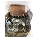 Silver plated dishes collection