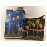 Luster glass tulip votive holders & more