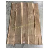 5 walnut square edge boards