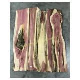 5 live edge red cedar boards