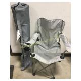 Road trip Rocker and Grey Folding Chair