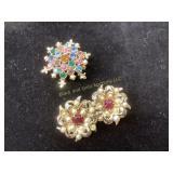 Vintage gemstone pendant/brooch