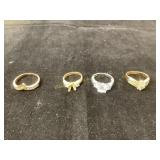 Ladies costume ring collection