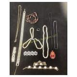 Ladies assorted jewelry