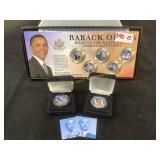 Barack Obama coin collection