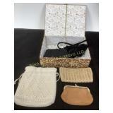 Ladies vintage evening purse collection
