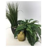 Artificial Greenery with Rabbit