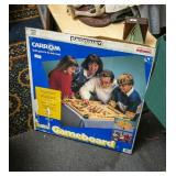 Boxed carom game board