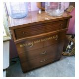 Ward 4 drawer retro chest of drawers
