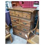 Wooden 3 drawer chest of drawers