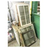 Lot of 32 assorted size windows
