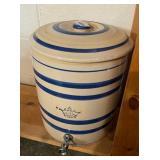 Unmarked Robinson Ransbottom #4 Crown Water Cooler stoneware jug