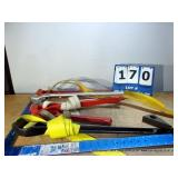 BOX: ASSORTED STRAP WRENCHES (5X MONEY)