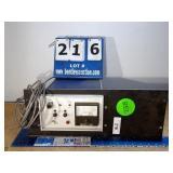 VARIAN 810 REMOTE VACUUM VALVE CONTROLLER