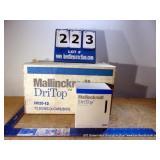 BOX: MALLINCKRODT DRI TOP DESICCANT CAPS