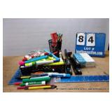 BOX: MISCELLANEOUS OFFICE SUPPLIES