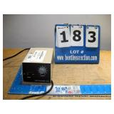 LW SCIENTIFIC INC. LIGHT SOURCE POWER SUPPLY