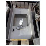 "STAINLESS STEEL 16"" HAND SINK"