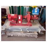 US ELECTRIC 3 HP 3PH 60 HZ W/ BELL & GOSSETT PUMP