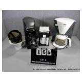LOT: COFFEE MAKERS - FARBERWARE TWO CUPPER, BLACK