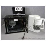 LOT: RONCO SHOWTIME OVEN & KRUPS COFFEE MAKER