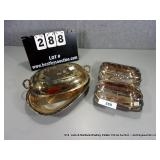 LOT: 2 REED & BARTON & INTERNATIONAL SILVER PLATE