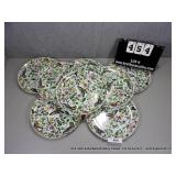 LOT: BUTTERFLY DECORATIVE PORCELAIN DINNER PLATES