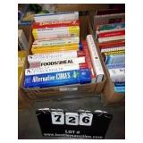 BOX: 12 VARIOUS HEALTH BOOKS, 5 INFORMATIONAL