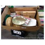 BOX: SERVING DISHES/ PLATTERS, BASKETS