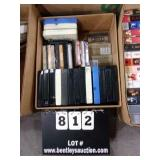 BOX: MUSIC TAPES, 8-TRACK TAPES