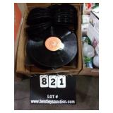 BOX: TWO SIZED RECORDS, BIG AND MEDIUM