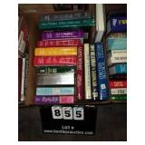 BOX: READERS DIGEST (4), FICTION BOOKS (4),