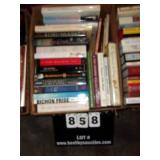 BOX: BOOKS (SEA BISCUIT, A FINE BALANCE, SPAINISH