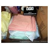 BOX: QUEEN SIZE PASTEL COLORED SHEETS