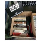 BOX: BOOKS ( THE PERSIAN BOY, OLD MONEY, I LOST A