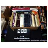 BOX: BOOKS (LARGE PRINT DICTIONARY, 365 WAYS TO