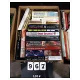 BOX: BOOKS ( JIMMY CARTER- AUTHOR, OBSESSION,