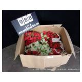 LOT: DECORATIVE ARTIFICIAL CHRISTMAS THEMED