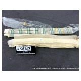 LOT: 2 CLOTH ROLLS, (1) GREEN, WHITE, RED,