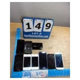 BIN: ASSORTED CELL PHONES (9X MONEY)