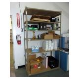 BROWN PALLET RACKING STYLE SHELVING
