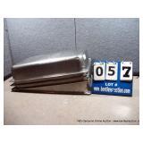 """12""""X20""""X4"""" STAINLESS BINS (4X MONEY)"""