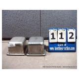 """7""""X6""""X4"""" STAINLESS PANS (4X MONEY)"""