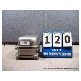 """7""""X12""""X3"""" STAINLESS PANS (4X MONEY)"""
