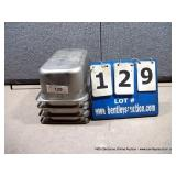 """7""""X12""""X4"""" STAINLESS PANS (4X MONEY)"""