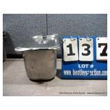 """7""""x12""""x4"""" STAINLESS PANS W/ LIDS"""